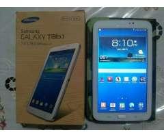 Tablet Samsung Sólo Wifi Usada Bien Cuid