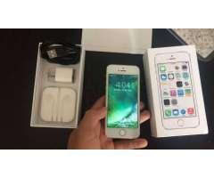 iPhone 5s 16g con caja y cargador en perfectas condiciones. Como nuevo