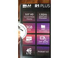 Blu R1 Plus 3gb de Ram Doble Flash
