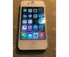 vendo iphone 4g liberado de 16gb
