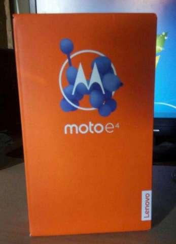 Motorola Moto E4 Nuevo Sellado en Su Caj