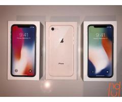 iPhone X 256GB .64GB  Unlocked Sealed NEW
