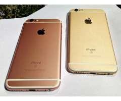 Iphone 6s 16Gb con su cargador y vidrio templado.