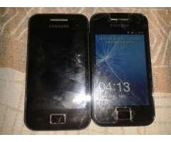 Vendo 2 Samsung G.t S5830 M