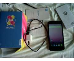 Moto C, doble flash