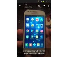 SAMSUNG MINI S3 EN PERFECTO ESTADO