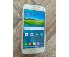 Samsung S5 Mini G800f 4g Lte con Huella Dactilar Sumergible contra Agua con Su Caja