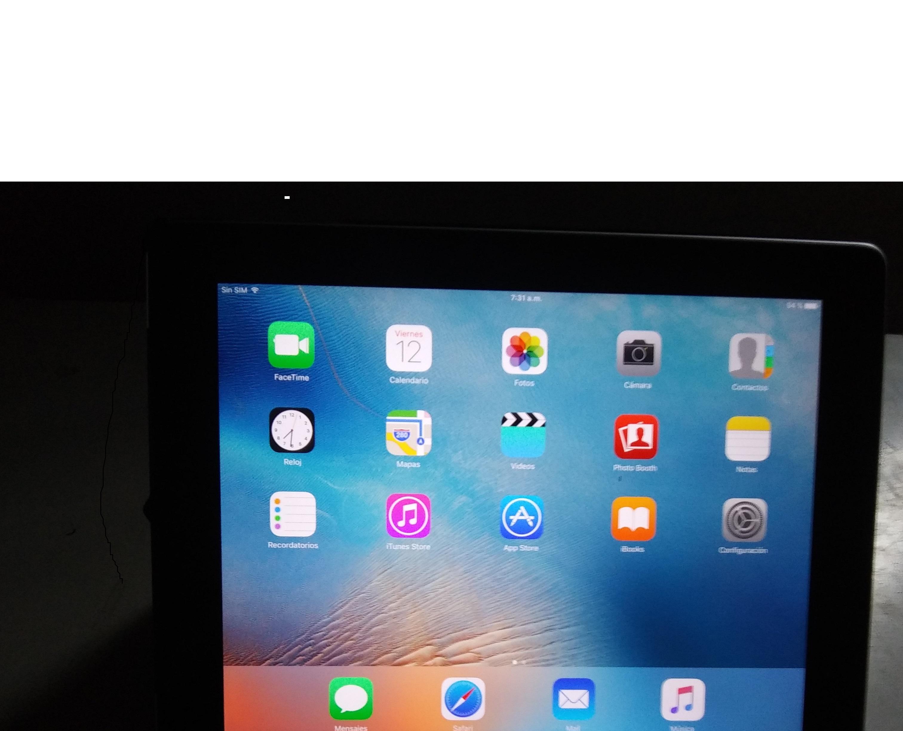 tablet aipad  de 32 gb bien consevada