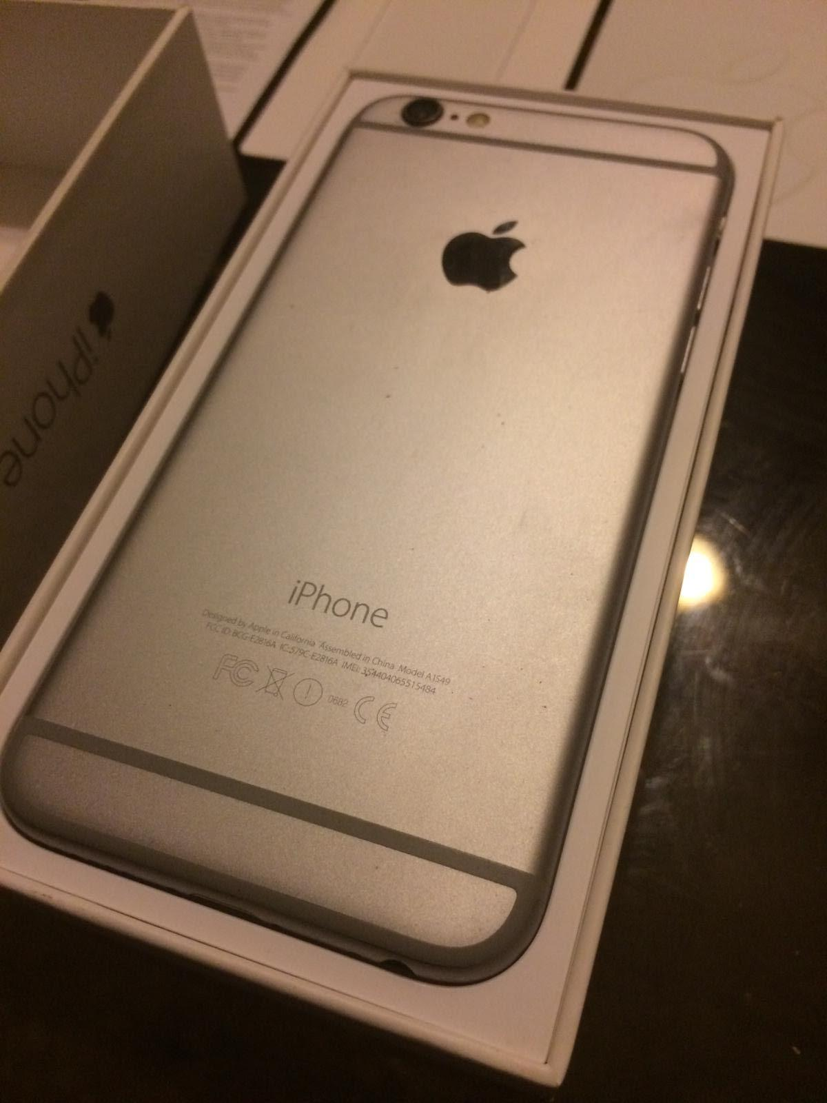 Apple Iphone 6 16gb Gray