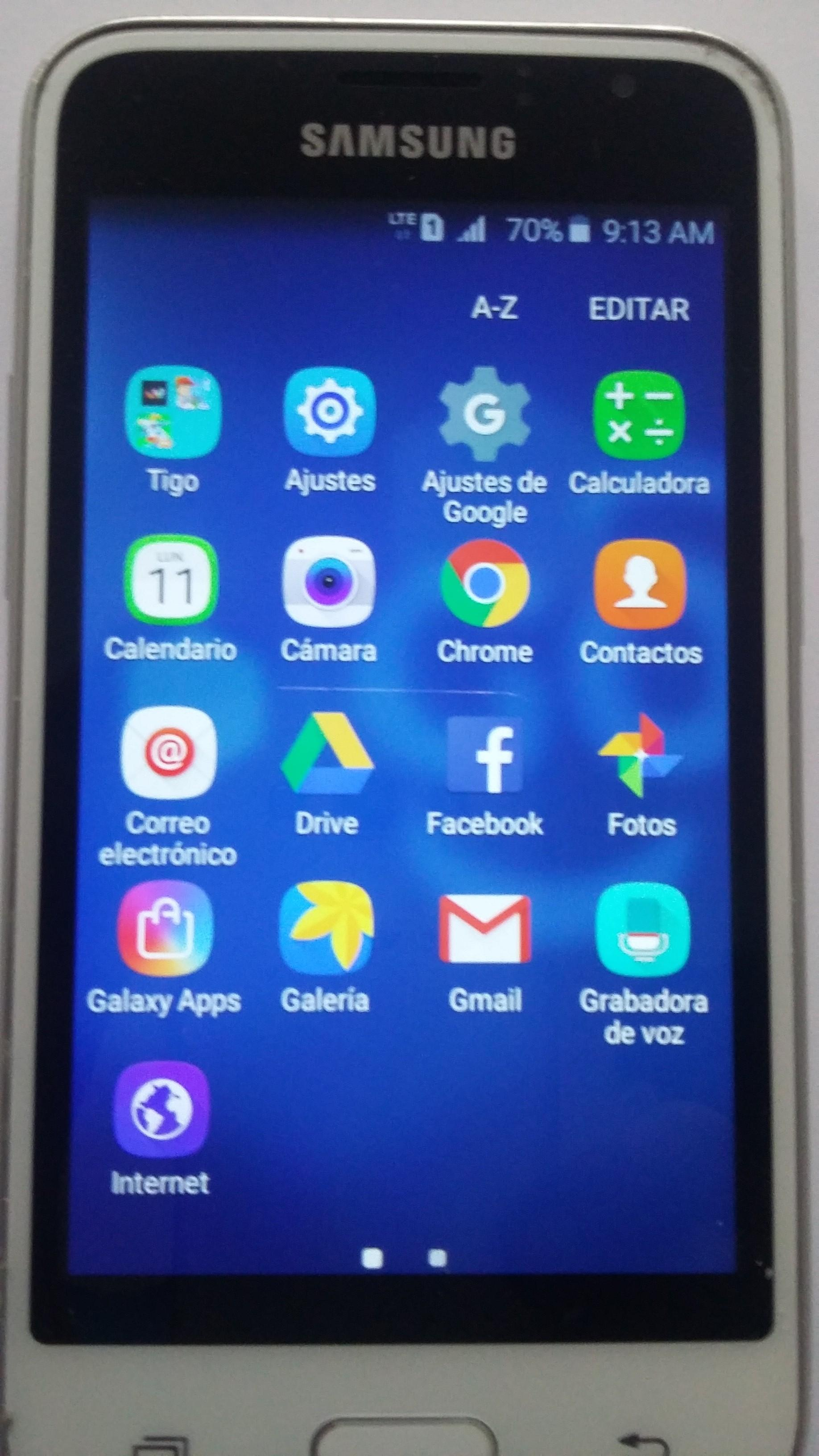 Vendo Samsung J1 Perfecto Estado